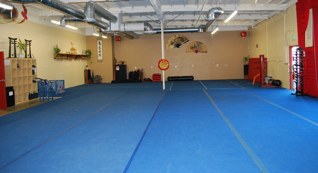 The JING Wushu Kung Fu floor